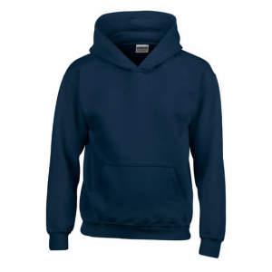 Kinder Heavy Blend™ Hooded Sweatshirt in Heather Sport Dark Navy