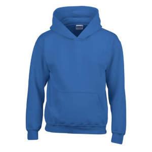 Kinder Heavy Blend™ Hooded Sweatshirt in Royal