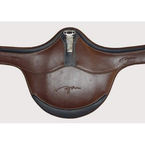 Dyon - Stollengurt Click and Ride aus Leder in braun