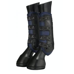 Gamaschen LMX Ultramesh Snug Boots hinten in navy