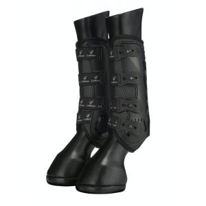 Gamaschen LMX Ultramesh Snug Boots hinten in Schwarz