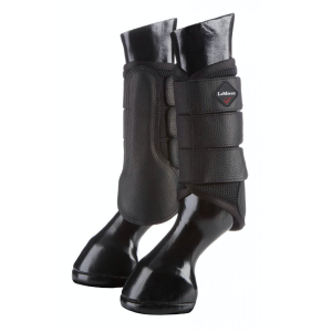 Gamaschen Mesh Brushing Boots in schwarz