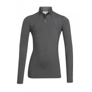 Funktionsshirt Kinder LMX Young Rider Base Layer in Slate