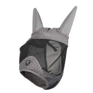 Fliegenmaske Gladiator Half in Grey