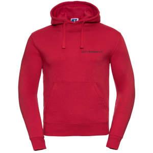 ZK ZRFV Kamen Herren Authentic Hooded Sweat in rot