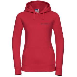 ZK ZRFV Kamen Damen Authentic Hood in rot