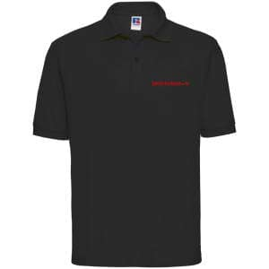 ZK ZRFV Kamen Herren Poloshirt 65/35 in schwarz