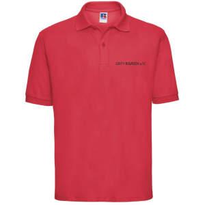 ZK ZRFV Kamen Herren Poloshirt 65/35 in Classic Red