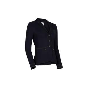 Turnierjacket Damen Victorine Embroidery SS21 in schwarz
