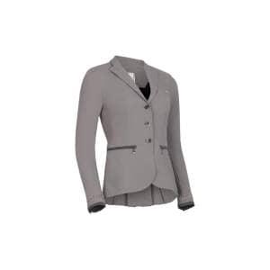 Turnierjacket Damen Victorine Embroidery SS21 in grau