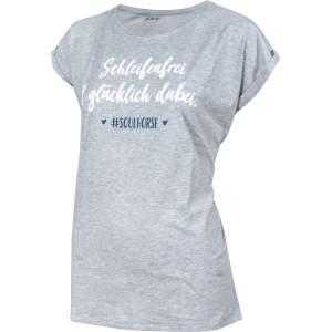 T-Shirt Schleifenfrei von #Soulhorse in grau