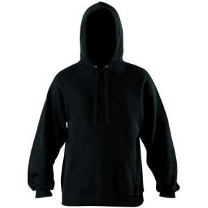 Herren Kapuzen Pullover in Black