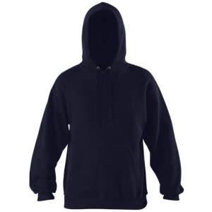 Herren Kapuzen Pullover in Blue Heather