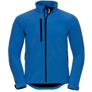 Herren Softshell Jacke in Azure Blue