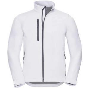 Herren Softshell Jacke in White