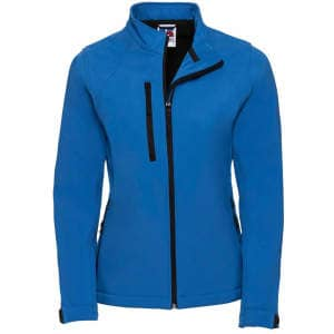 Damen Softshell Jacke in Azure Blue