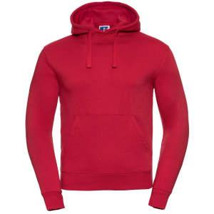 Herren Authentic Hooded Sweat in Classic Red