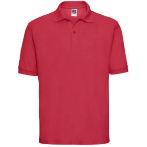 Herren Poloshirt 65/35 in Classic Red