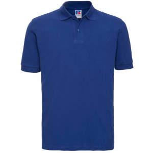 Herren Classic Cotton Poloshirt in Bright Royal