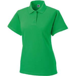 Damen Classic Cotton Poloshirt in Apple